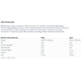 Multipower 53% Protein Bar Alimentazione sportiva Berry Yoghurt 50g blu/bianco